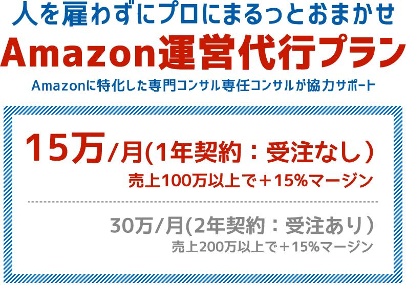 Amazon運営代行プラン